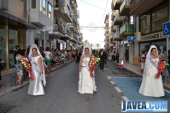 Ofrenda en honor a la Mare de Déu de Loreto