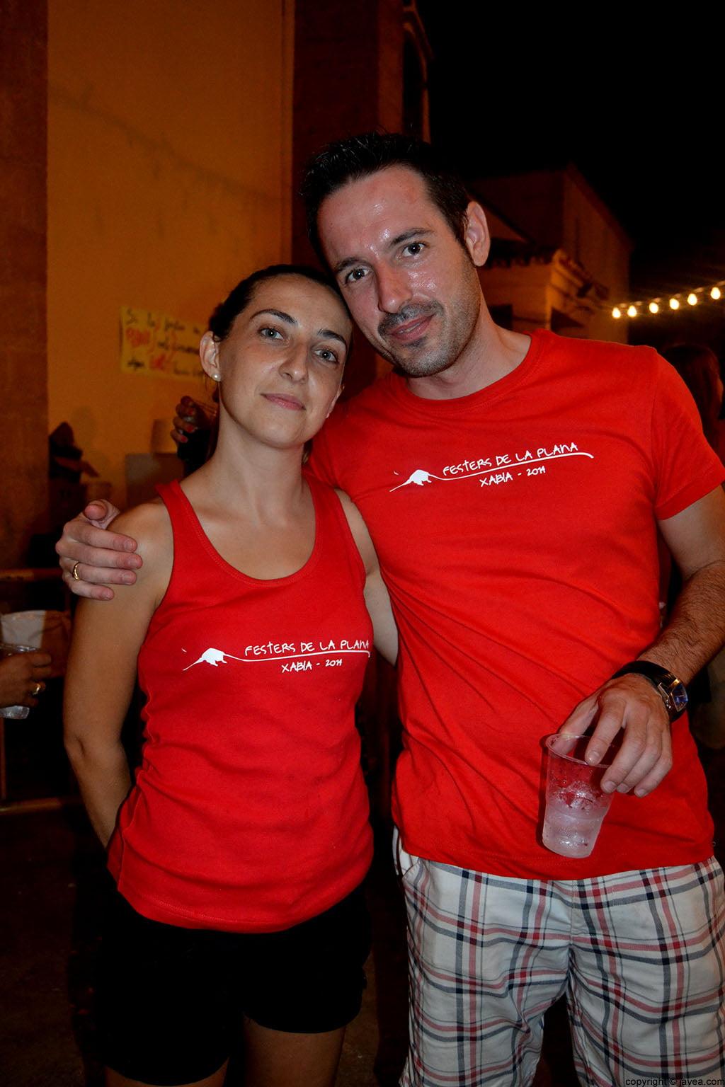 Patricia Sart e Iñaki Lillo
