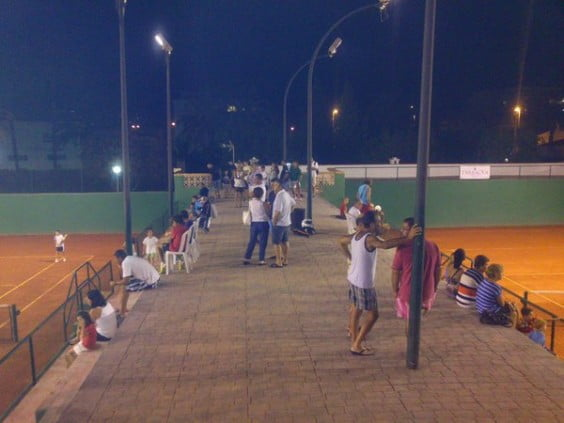 El Club Tenis Javea vivió un gran ambiente en el pasado Torneo Tarrataula