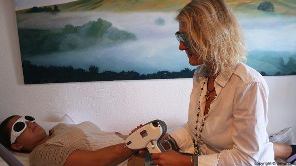 Láser manchas Dra Iris Alexandra Henkel