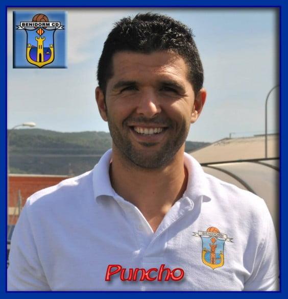 Jaime López conocido como Puncho en su etapa en el CD. Benidorm