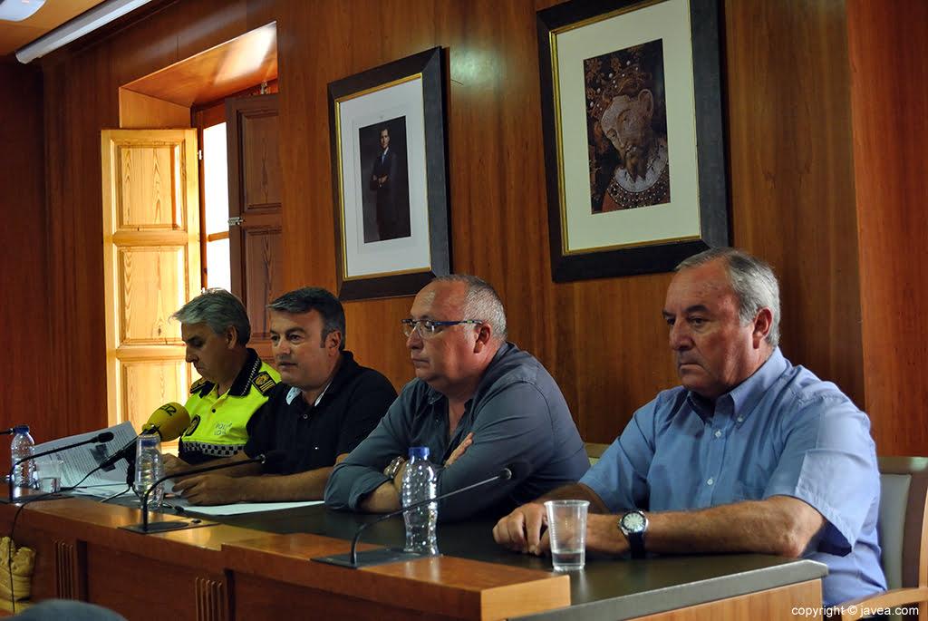 Rueda de Prensa Balance Incendio Montgó