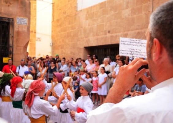 Colla de dolçainers i tabaleters de Xàbia