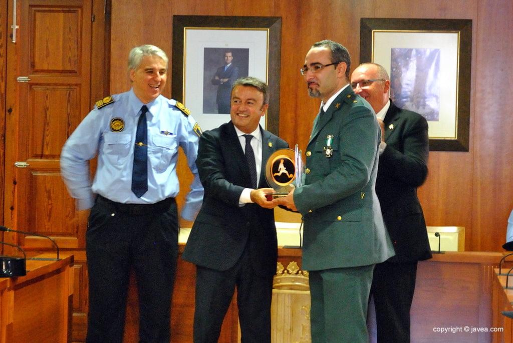 La Guardia Civil recibió su premio deportivo