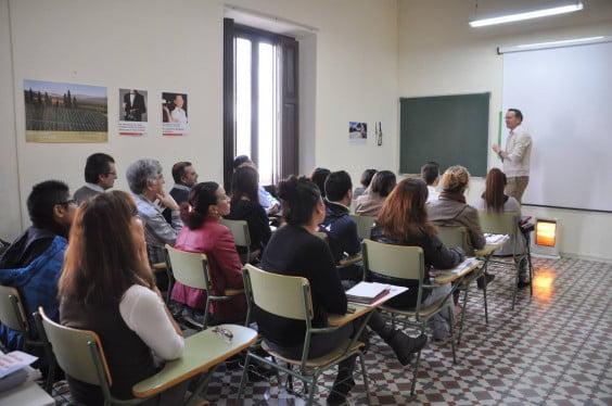 Las dependencias de Cruz Roja albergan numerosos cursos y charlas