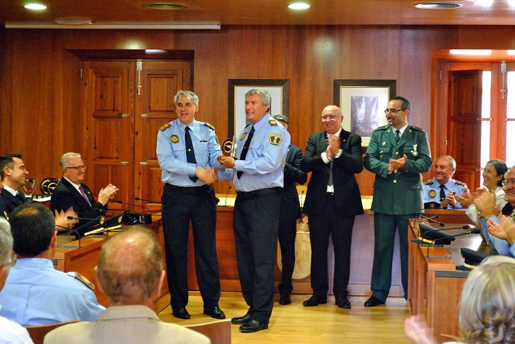 Francisco Cholbi recibió su premio