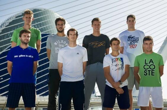 David Ferrer junto a los grandes de este torneo