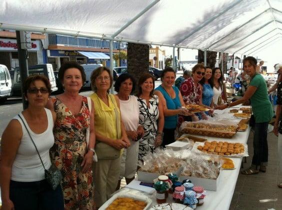 Mercadillo Solidario Cáritas