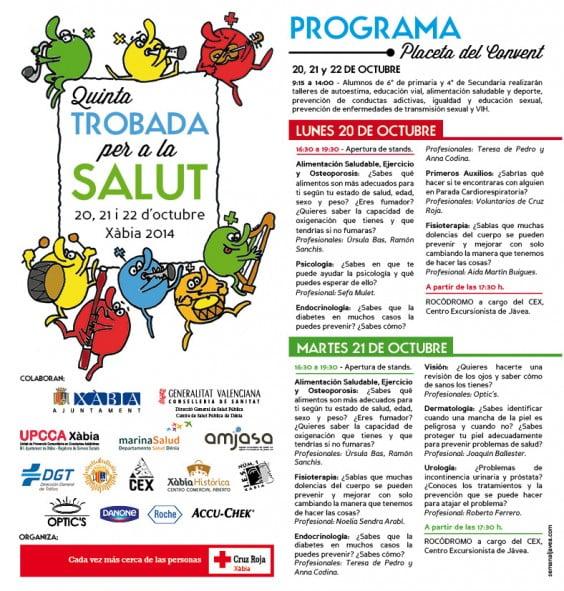 Programa V Jornadas de Salud Pública 2014