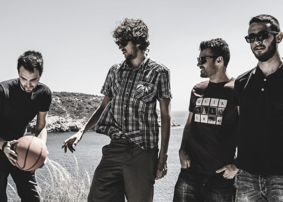 El grupo de rock Cleptòmans de bancal