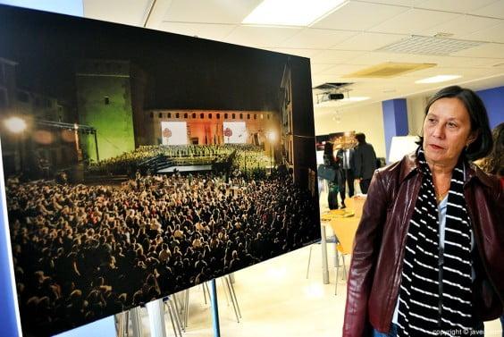 Monjove acoge una muestra fotográfica de ediciones anteriores del evento
