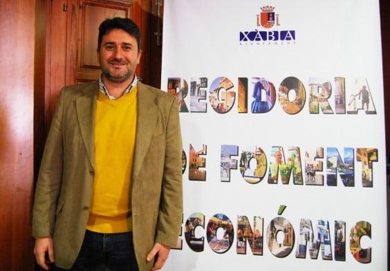 Juan Luis Cardona, concejal de Fomento Económico Xàbia