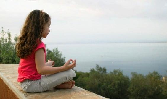 Meditación para niños y niñas
