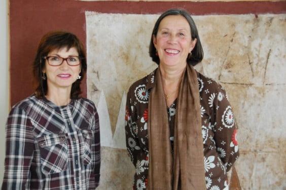 La concejala de Cultura Empar Bolufer junto a la técnico Pepa Roig