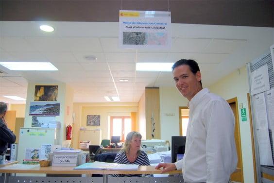 El actual líder de Xàbia Democrática, Óscar Antón, primer teniente alcalde y edil de Hacienda