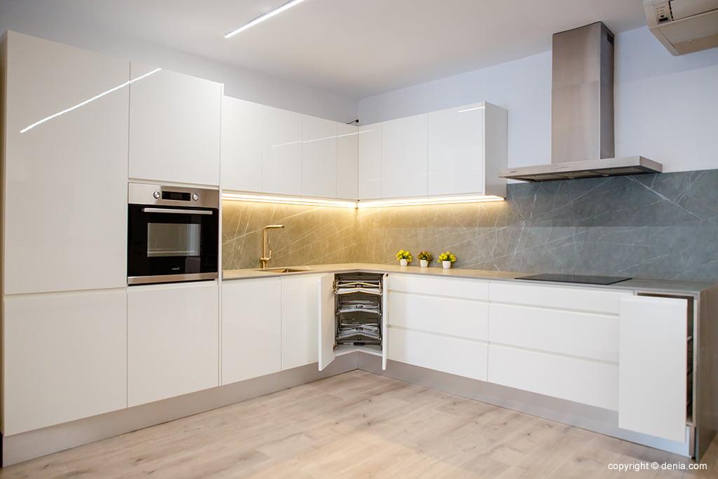 Cocina blanca moderna – Cocina Fácil