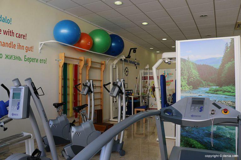 Instalaciones rehabilitacion REMA