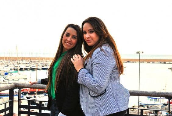 """Noelia y Beatriz esperan """"con ganas"""" el inicio de su reinado"""