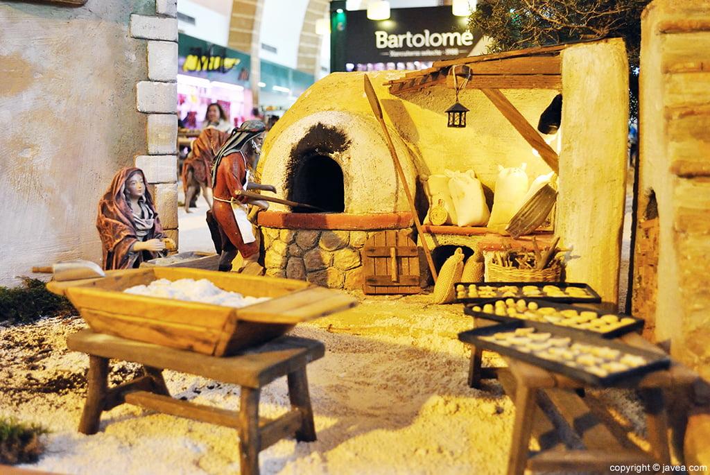 La Panadería con su horno de leña