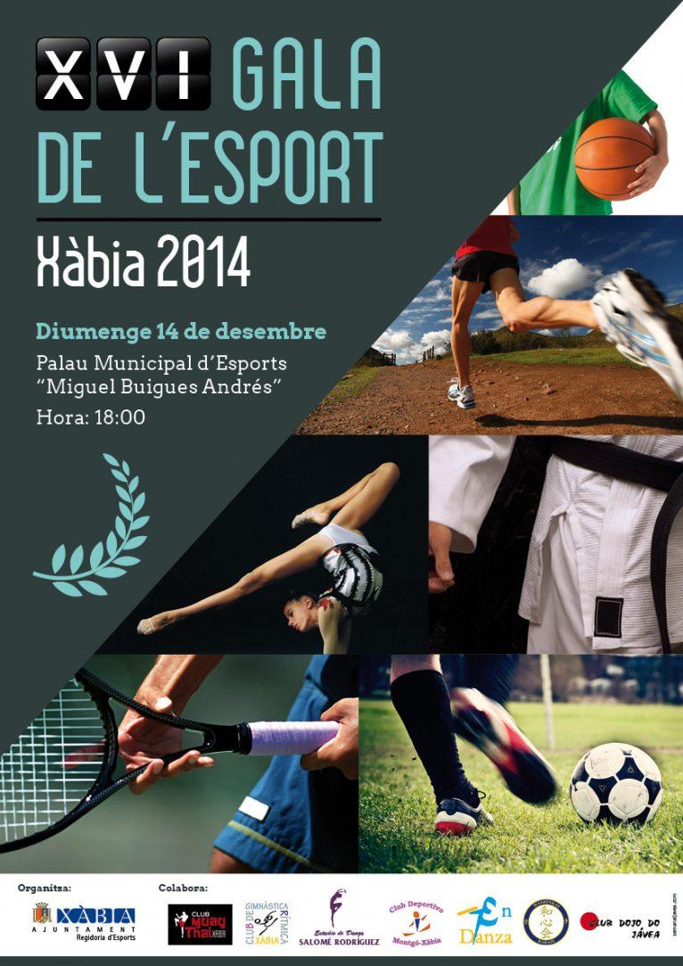 Cartel Gala del Deporte 2014
