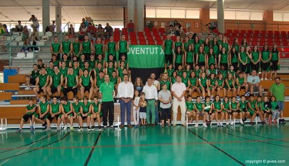 Equipos del Club Joventut Xàbia
