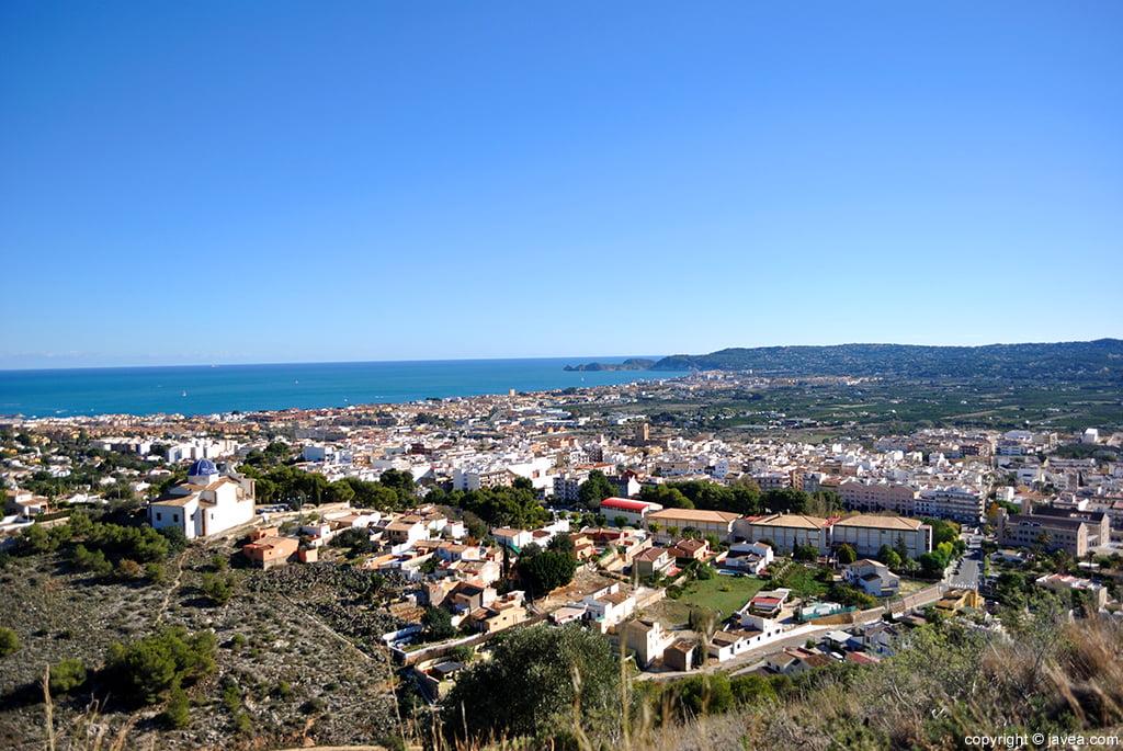 Panoramisch van Santa Lucia