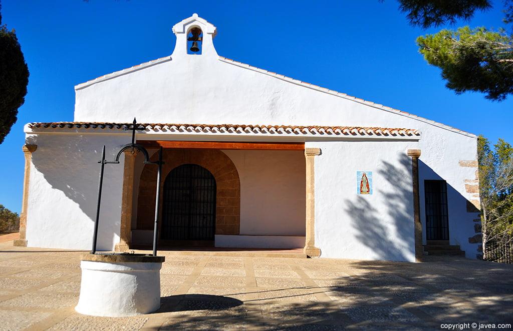 L'arquitectura de l'ermita respon a la típica de les ermites de conquesta