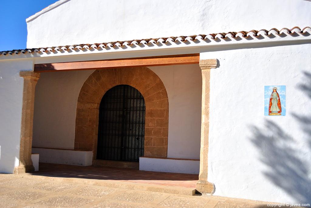 La ermita posee dos advocaciones