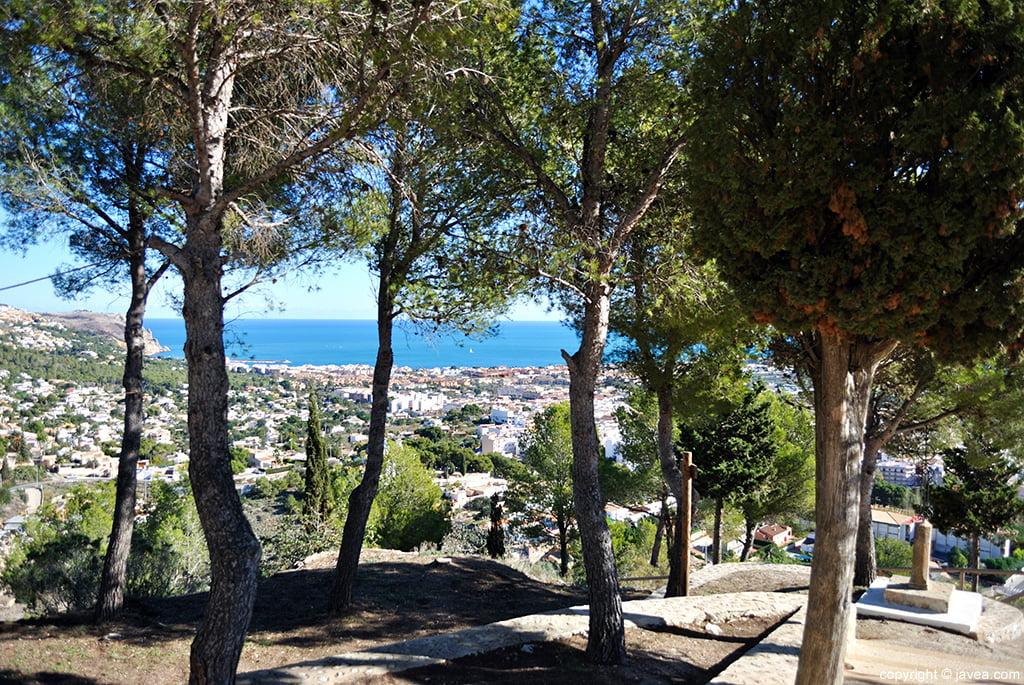 Santa Llúcia s'erigeix en el punt més alt construït a Xàbia