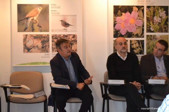 José Chulvi junto a Javier Scotto