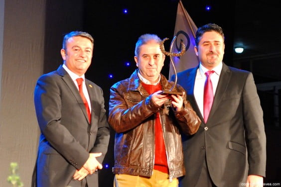 José  Francisco Erades premio Maurice Chautin 2014