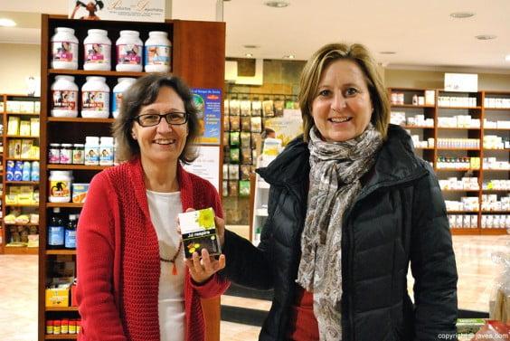 La madre de Rosana recogió el premio en Vida Verda