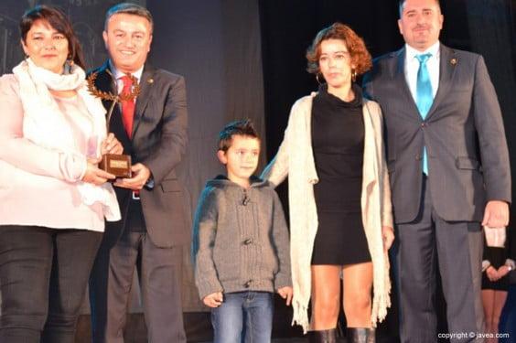 Susi y Cati Canet recogieron el premio Maurice Cheautin