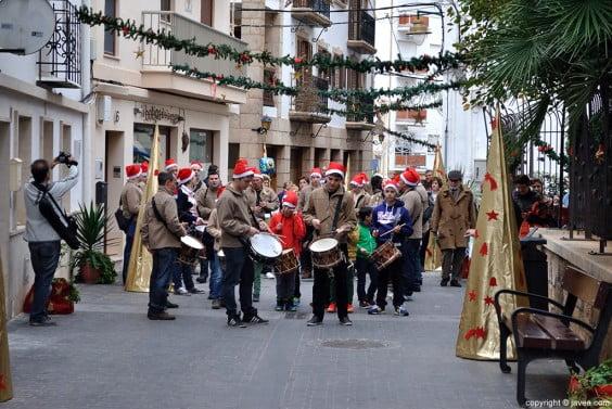 Actuación de la Colla Xirimitabs en Navidad