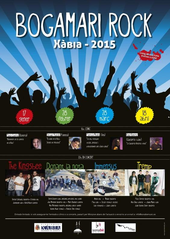 Cartel Bolgamarí Rock 2015