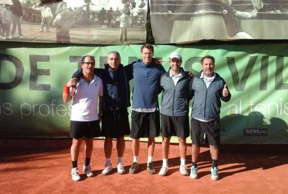 Equipo de Veteranos del Club Tenis Jávea