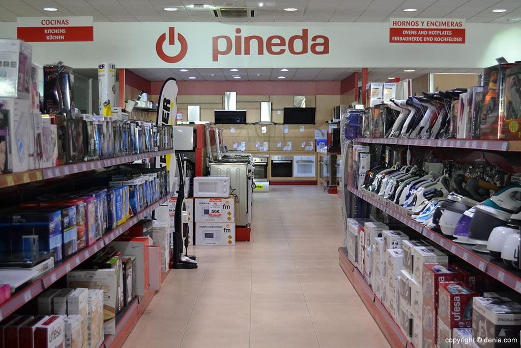 Gran selección de productos en Pineda