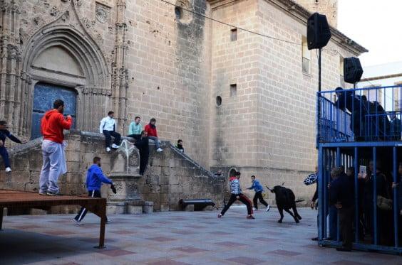 Els toros de Sant Sebastià tornaran a recórrer les principals places del nucli antic