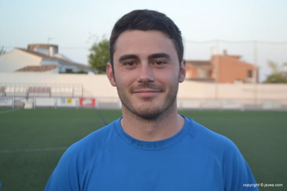 Pablo Irigoyen jugador del CD. Jávea