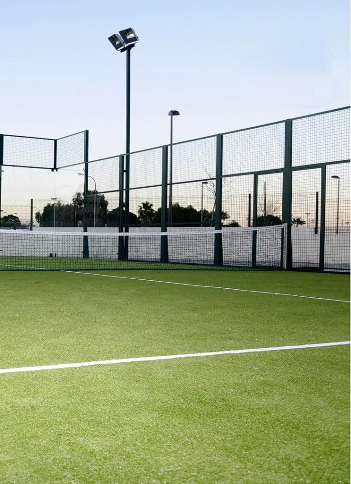 Pistas de pádel en el Centro Deportivo Dénia