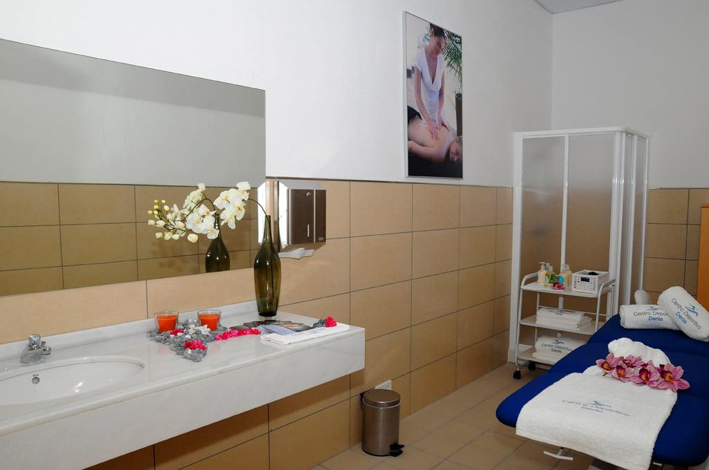 Spa y sala de masajes