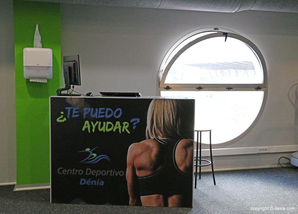 Información gimnasio Centro Deportivo Dénia