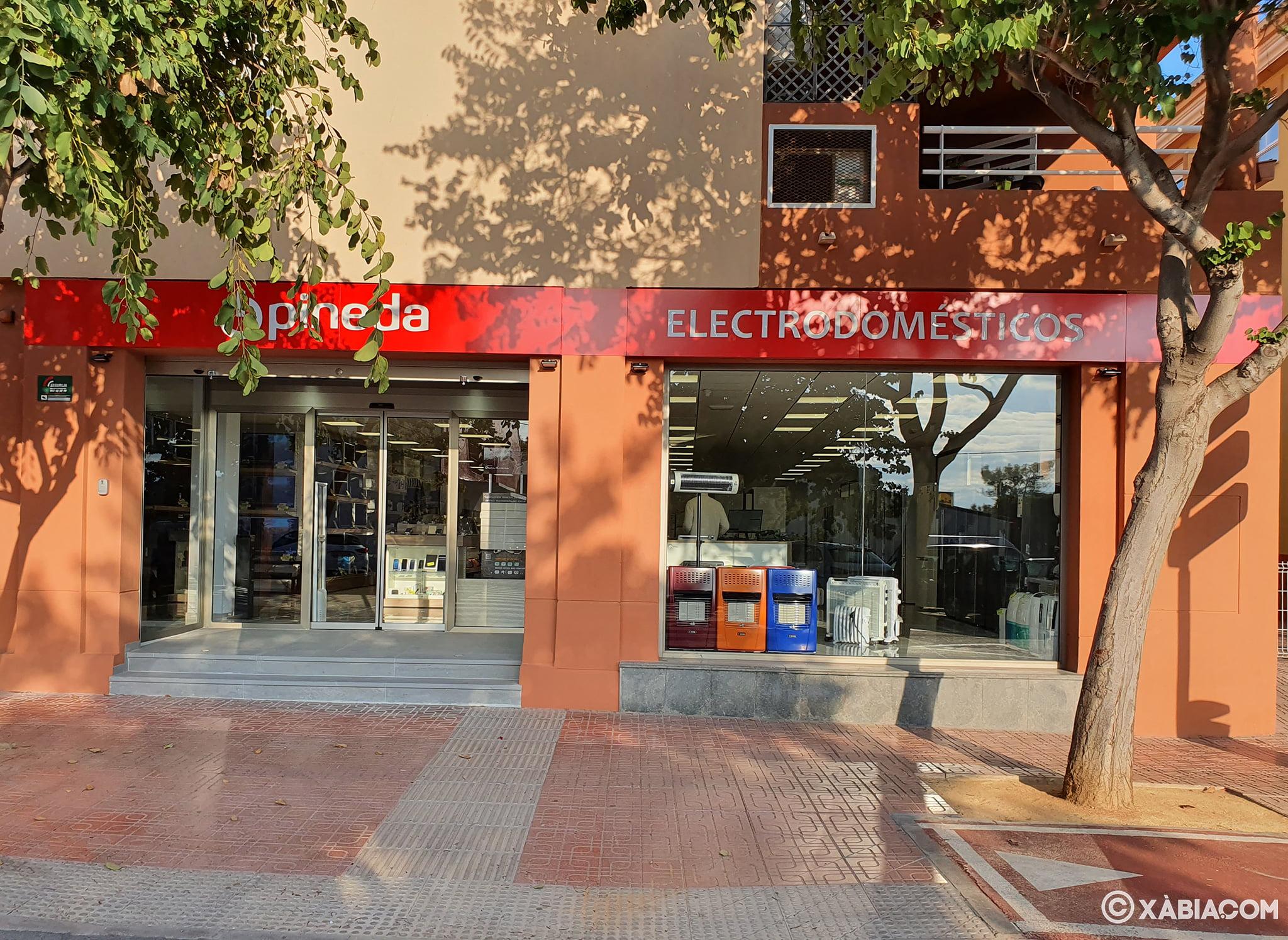 Nueva tienda Jávea – Electrodomésticos Pineda