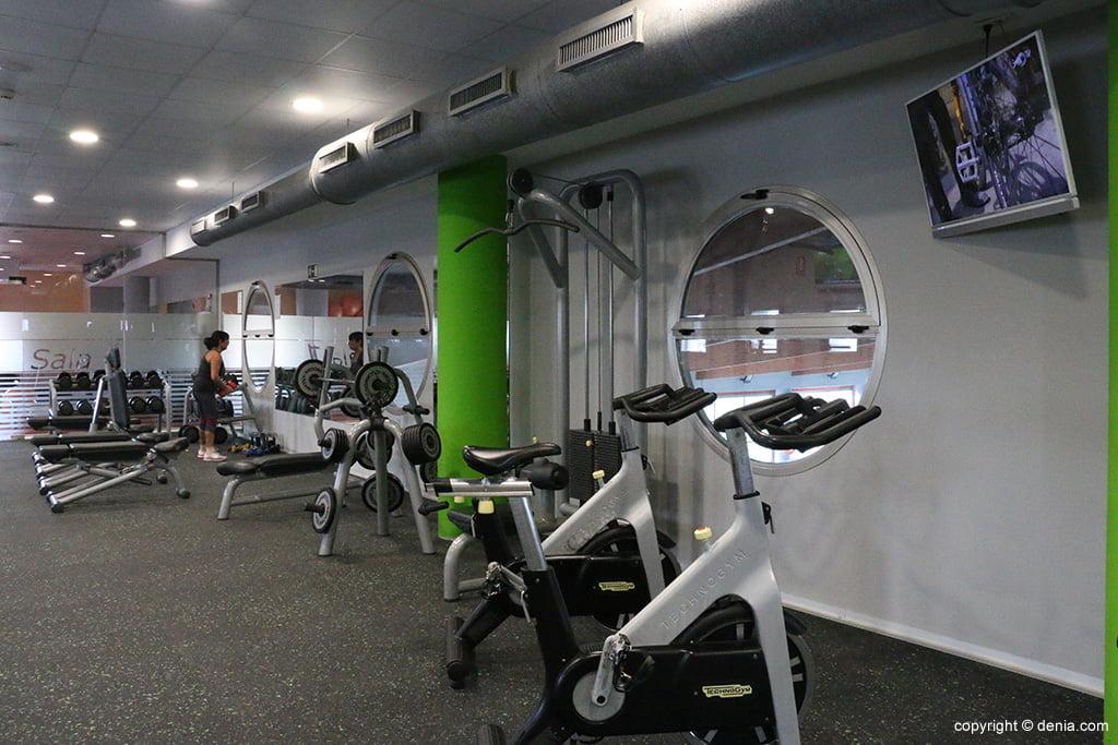 Sala maquinas Centro Deportivo Denia
