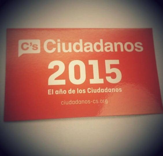 Cartel de Ciudadanos