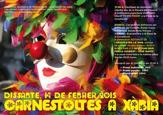 Cartel  Carnestoltes 2015