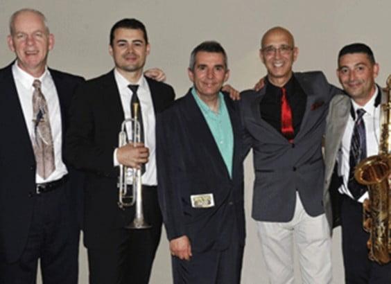 Componentes del Swingsational Jazz Reunión