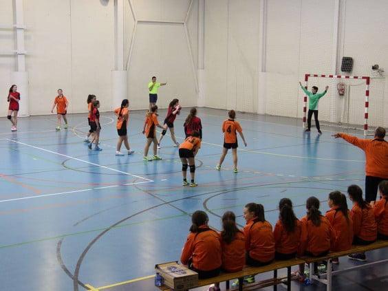 Defensa del Club Handbol Xàbia