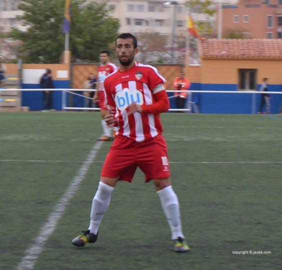 Javi fue al autor del gol en Sueca