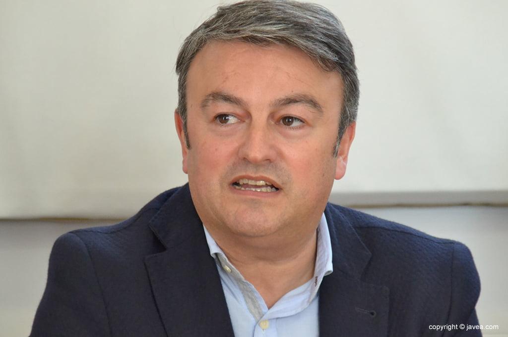 José Chulvi actual alcalde de Jávea